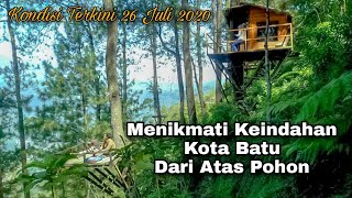 Jalan jalan di Omah Kayu || Paralayang || Wisata Gunung Banyak || Kota Wisata Batu || 26 Juli 2020