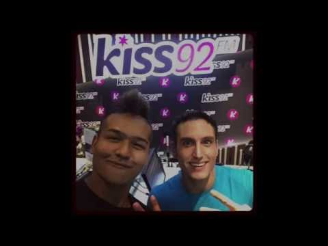 Bucko on KISS92 FM in Singapore!