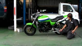 ZRX1100 カスタム 参考動画