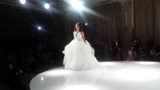 Лиза Боярская в платье от Vera Wang