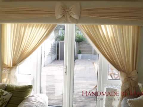 Ruffle Bow Pelmets, Curtains & Soft Furnishings