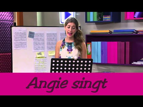 Angie singt 5 Violetta Songs