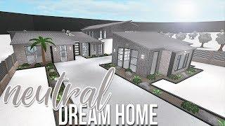ROBLOX   Bloxburg: Neutral Dream Home 165k