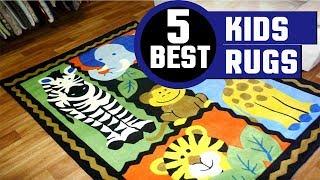 ✅ Kids Rugs: 5 Best Rugs for Baby Nursery Review In 2019 | Target Kid's Rugs (Buyers Guide)