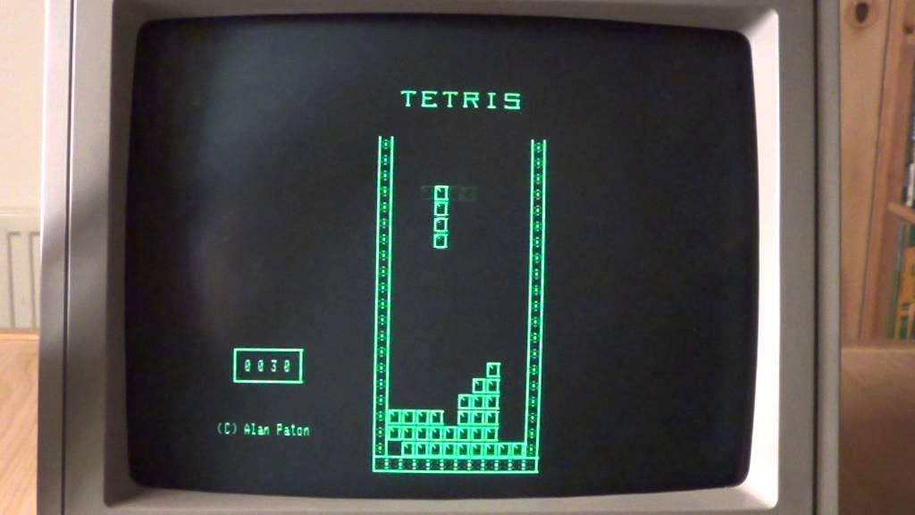 Z80 TETRIS