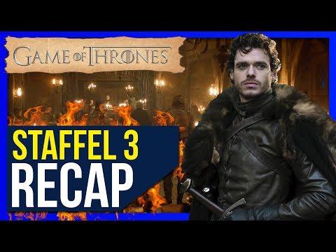 Game Of Thrones Staffel 3 ♦ Zusammenfassung / Recap ❄🔥