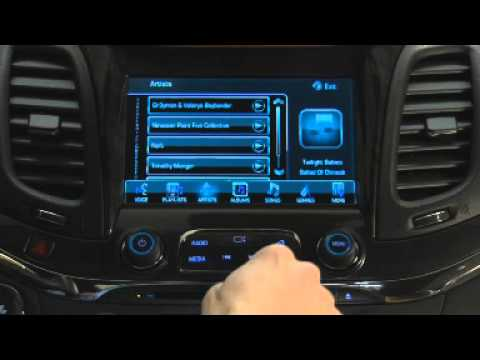 2015 Chevrolet MyLink How To Play USB Connected Media