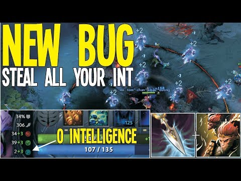 WTF NEW BUG 0 Int [Silencer + Wukong's Command] | Dota 2 Ability Draft