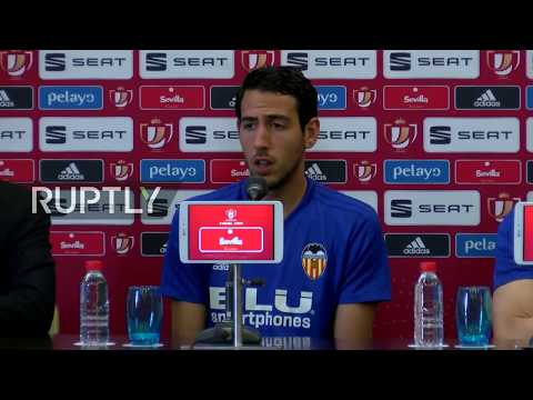 LIVE: Valencia stars holds press conference ahead of Copa del Rey final