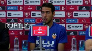 LIVE: Valencia stars holds press conference ahead of Copa del Rey final thumbnail