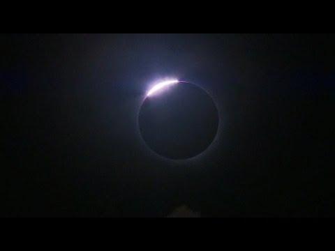 Full Solar Eclipse Caught on Film In Australia