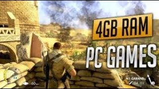 best low and pc 4gb and 2 gb ram games and action like gta 5 for pc