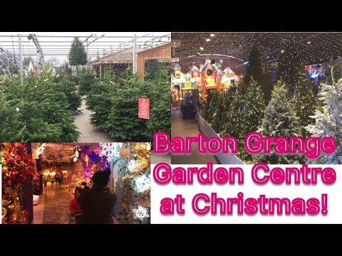 Barton Grange Garden Centre - Christmas time.