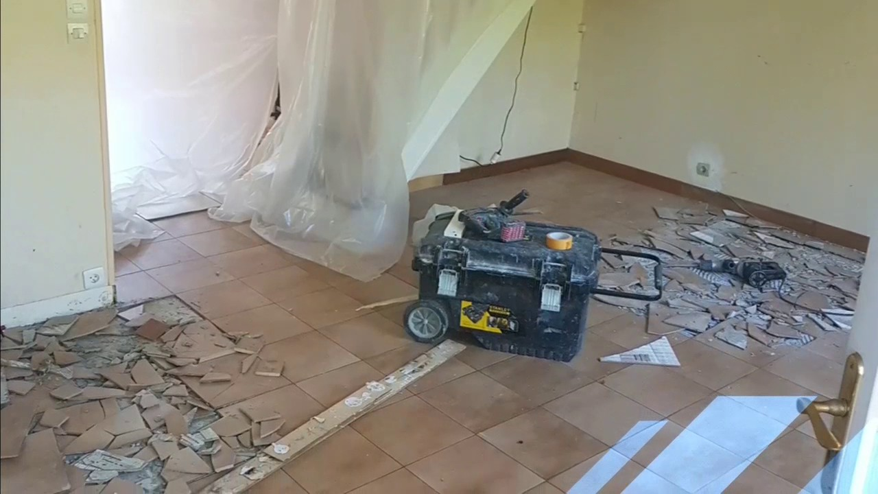 Beliebt comment poser carrelage imitation parquet.RVK BATI - YouTube RT31