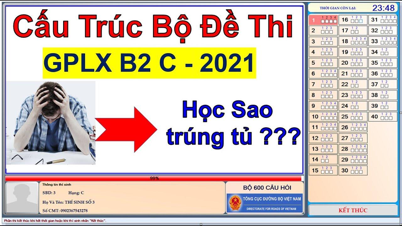 Thi lý thuyết 600 câu hỏi 2021 - học sao trúng tủ/Thầy Chiến
