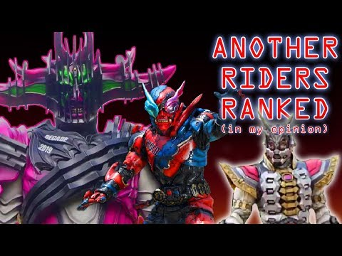 Kamen Rider Zi-O Another Riders Ranked From Worst to Best