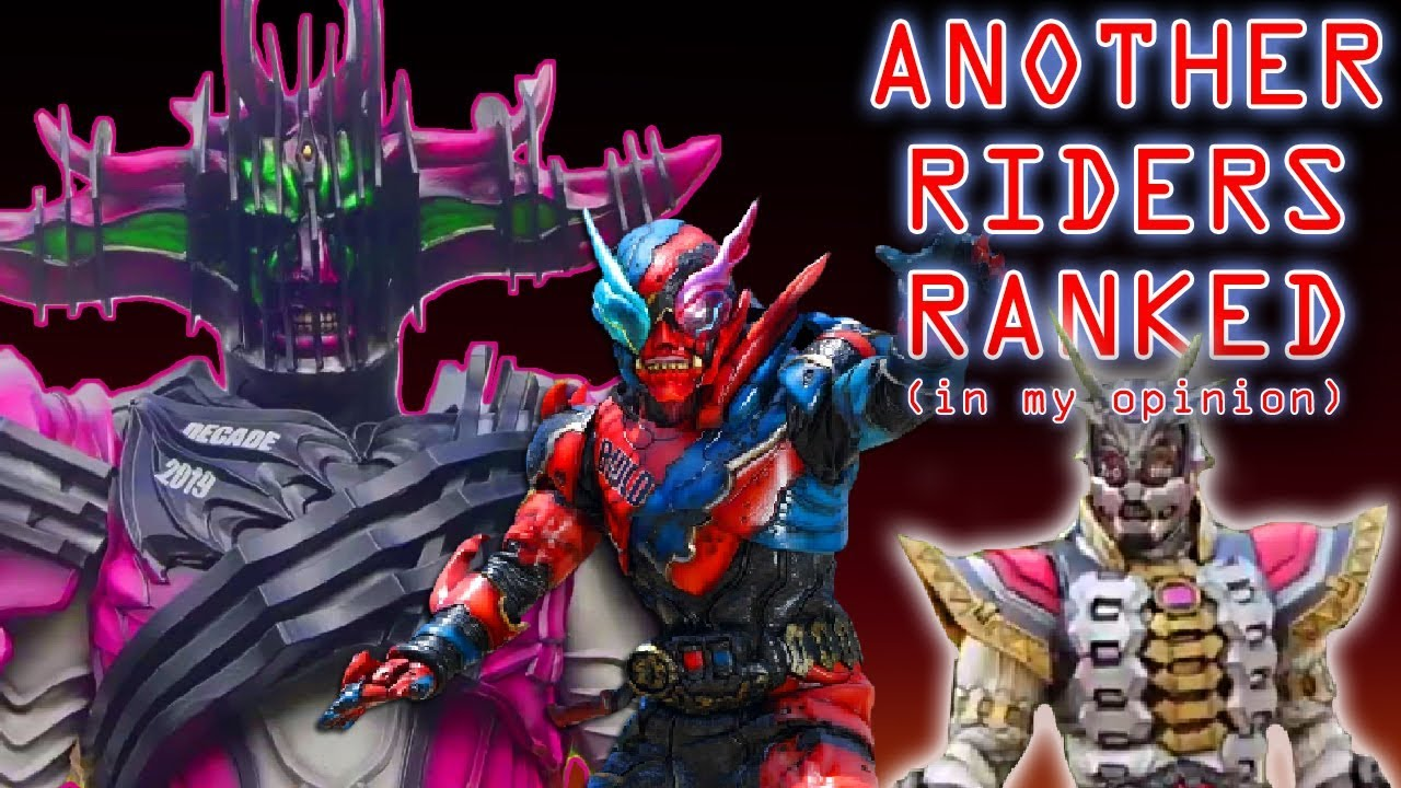 Kamen Rider Zi-O Another Riders Ranked From Worst to Best!