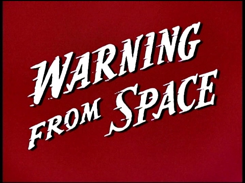 Warning From Space (Full Movie - 1956)