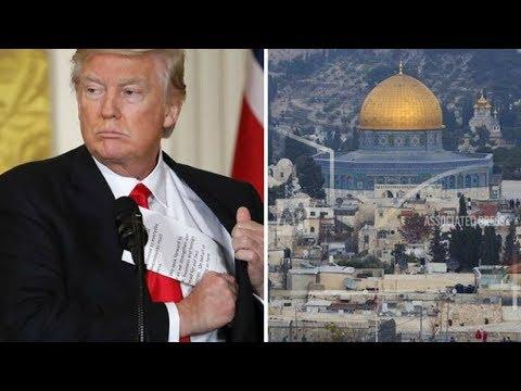 Trump Recognizes Jerusalem as Israel's Capital! Here