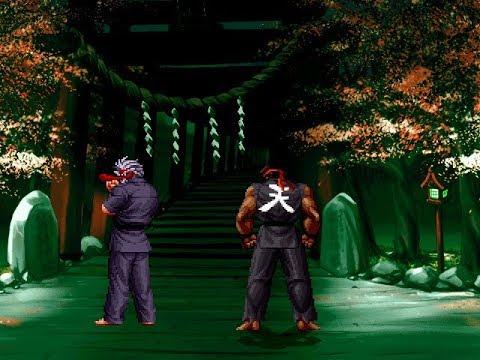 Serious Mr. Karate Vs Ryu Hell
