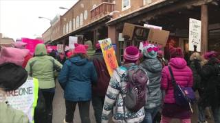 Women's March On Washington Santa Fe 2017 Clip 2 - FemenineMediaNetwork.com