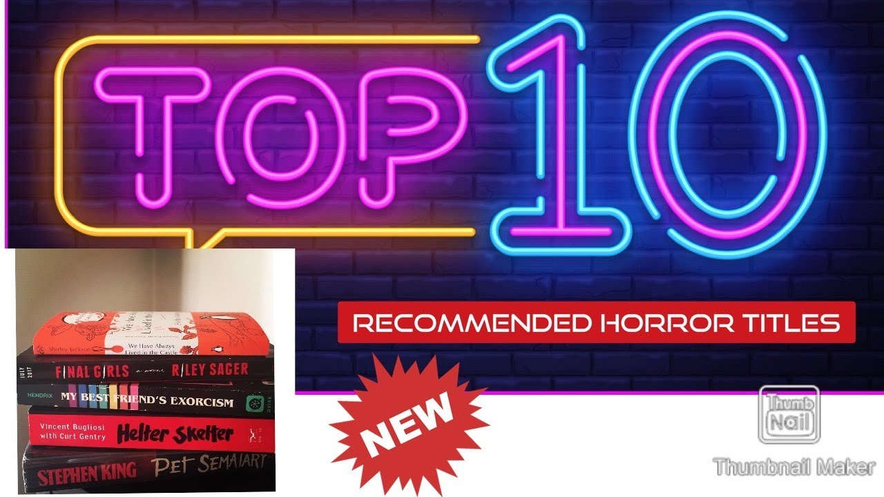 Top 10 Horror Recommendations