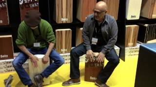 Sela at Musikmesse Frankfurt 2014 - Hakim Ludin and Yonatan Bar Rashi