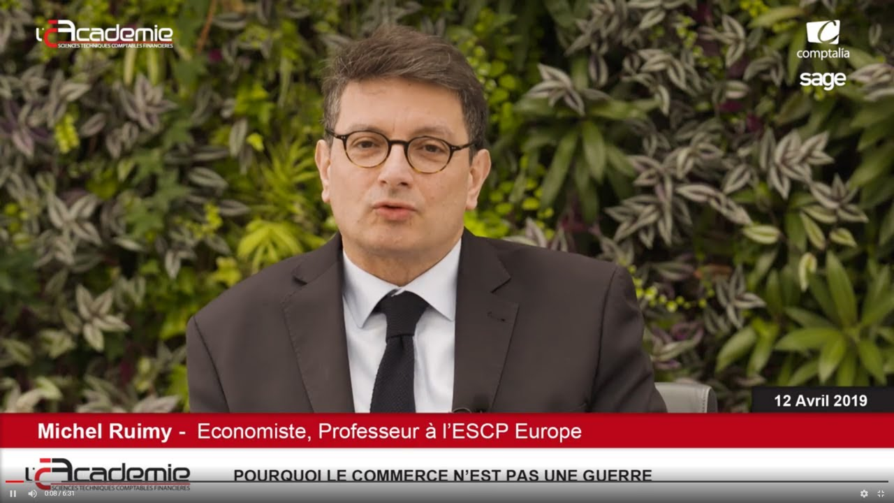Les Entretiens de l'Académie : Michel Ruimy