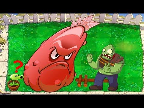 1 Repeater vs 1 Squash vs 1 Gargantuar - Plants vs Zombies Minigames  Zombotany 2