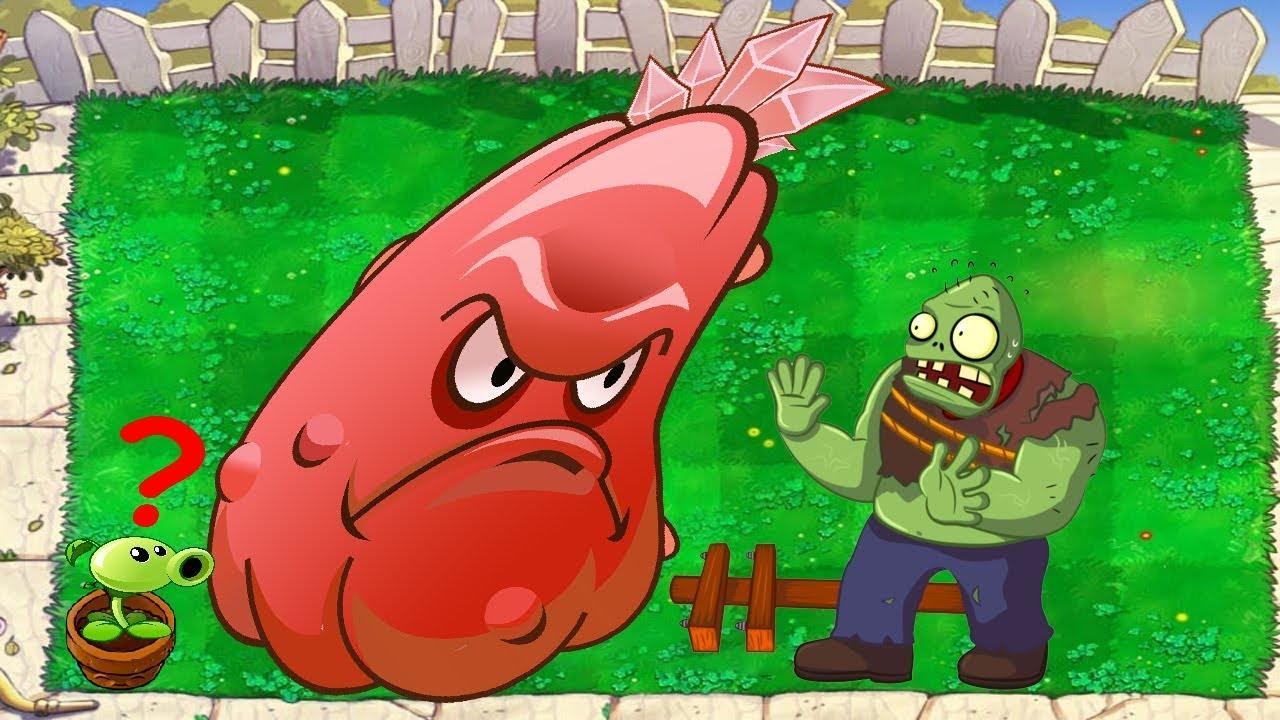 1 Repeater vs 1 Squash vs 1 Gargantuar - Plants vs Zombies