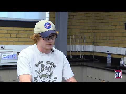 Nick Boynton's summer internship at NASA