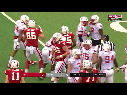 2018 Nebraska Spring Game In 40 minutes (Full Game)