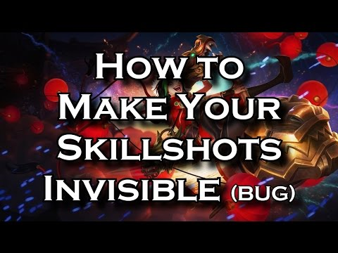 Doublelift's Invisible Ult | Reproducible Bug Making Your Skillshots Invisible