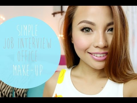 Simple Job Interview   Office Make Up