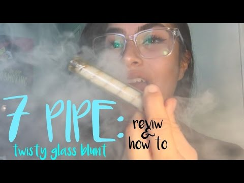 Twisty Glass Blunt Review & How To