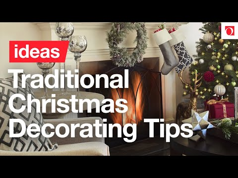3 easy steps to traditional christmas decor overstockcom - Overstock Christmas Decorations