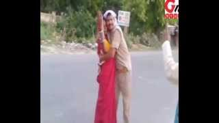 GNN NEWS AGENCY: UP Police Drunk & Misbehaving Publicly,Plz SUBSCRIBE