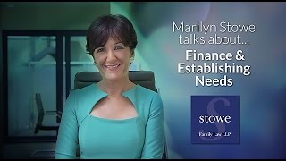 Divorce Advice: Finance and Establishing Needs - Top Divorce Lawyer Marilyn Stowe