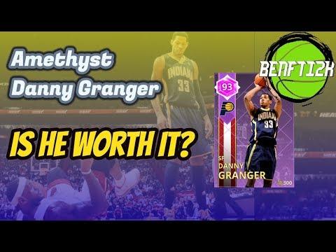 NBA2K18 AMETHYST DANNY GRANGER IS THE BEST CARD IN 2K!