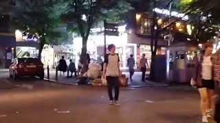 Молодежный Сеул ночью: Хондэ с Лешей, часть 1