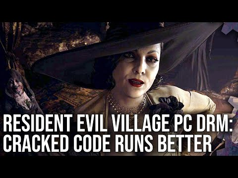 Resident Evil Village PC DRM: Cracked Code Really Does Run Better - Confirmed