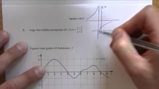 Matematik 4 - Lösning av Nationella provet vt-2013 del B
