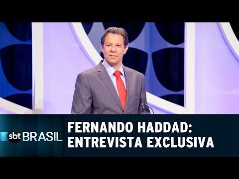 Fernando Haddad fala sobre críticas e propostas em entrevista exclusiva | SBT (17/10/18)