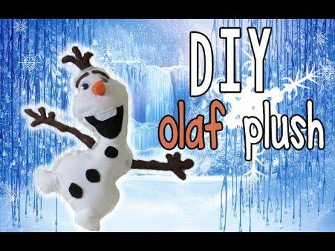 DIY: Frozen Olaf Plush (No sew)