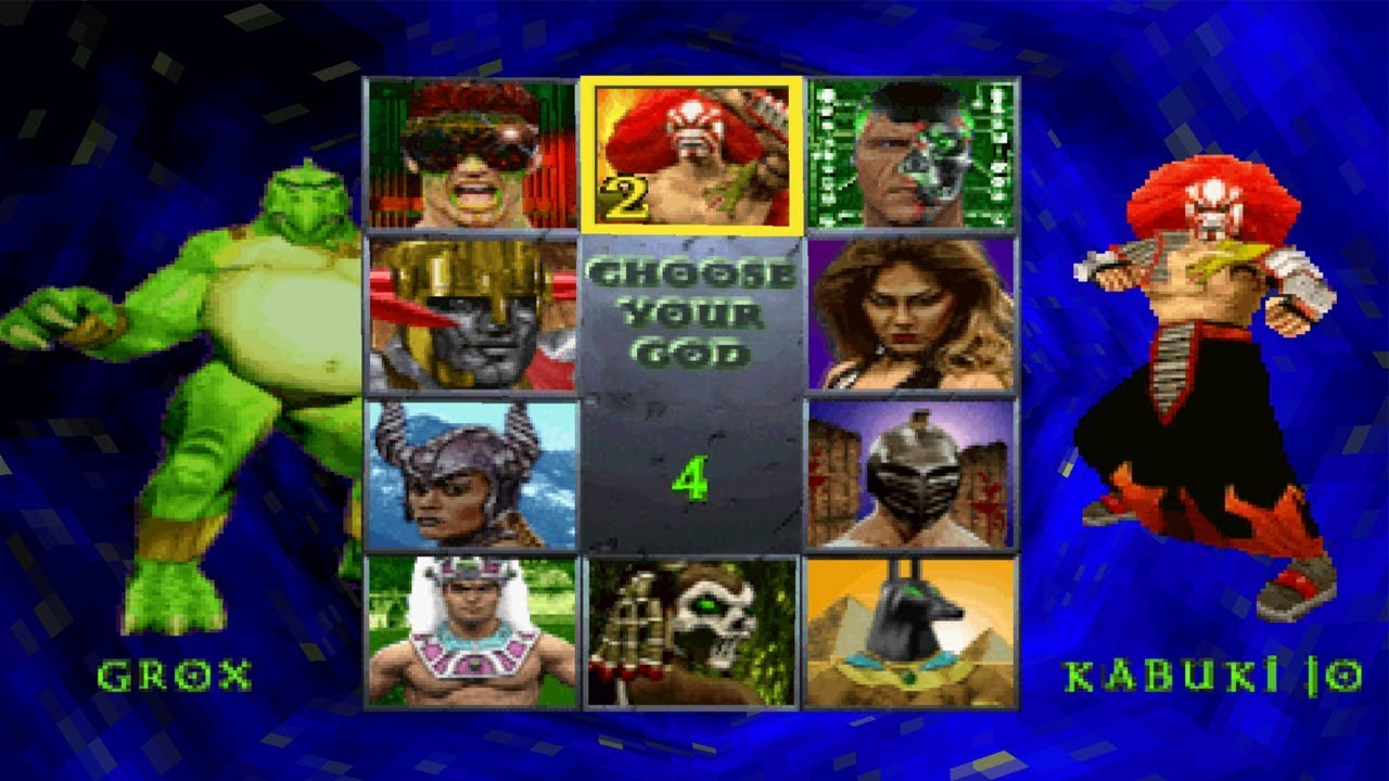 War Gods PS1 ROM #32
