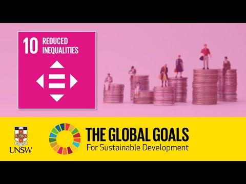 Sustainable Development Goal 10 - Reducing Inequalities - Jinki Trevillian