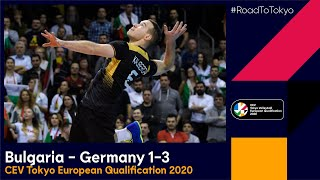 RoadToTokyo Bulgaria Germany 1 3 Match highlights