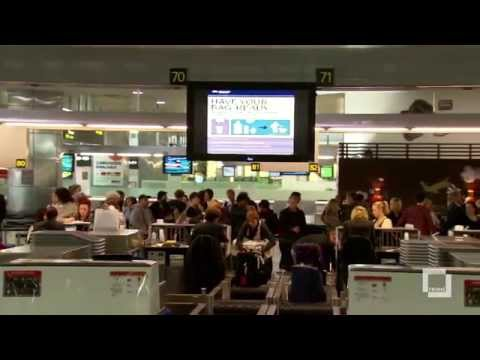 Frame's digital signage and flight information display system for Melbourne Airport