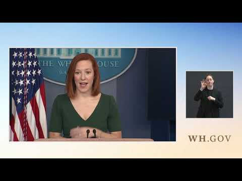 Press Conference: POS & CCP mouthpiece  Jen Psaki Holds a Press Briefing at The White House - Fe