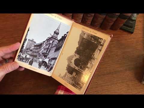 Copenhagen Denmark c.1890-1900 Souvenir tourist photo view album old book